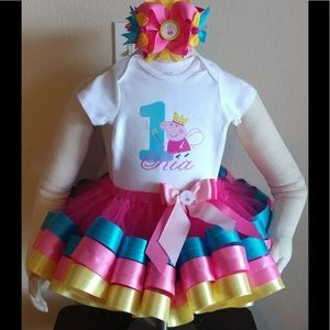 Other - Peppa Pig Tutu Outfit